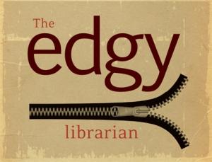 edgy librarian logo