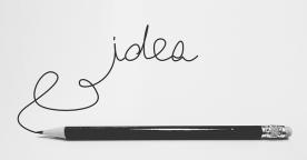 idea pencil